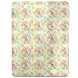 French Bulldogs And Donuts Fitted Sheet: King Luxury Microfiber, Soft, Breathable