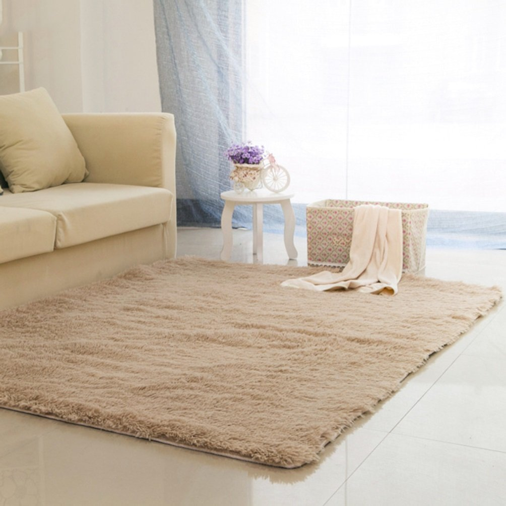 Rug WAN SAN QIAN- Children Bedroom Carpet Living Room Carpet Sofa Europe Princess Rectangle Blended Carpet Bedside (Color : A, Size : 62x162cm)