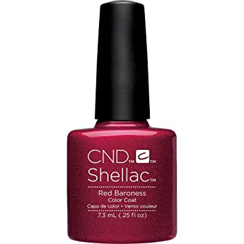 Amazon Creative Nail Design Shellac Uv Color Coat Red Baroness