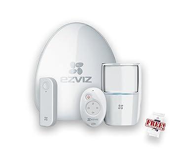 ezviz WiFi Vigilancia con Starter Kit detector de movimiento para puerta y ventana Sensor Emisor manual