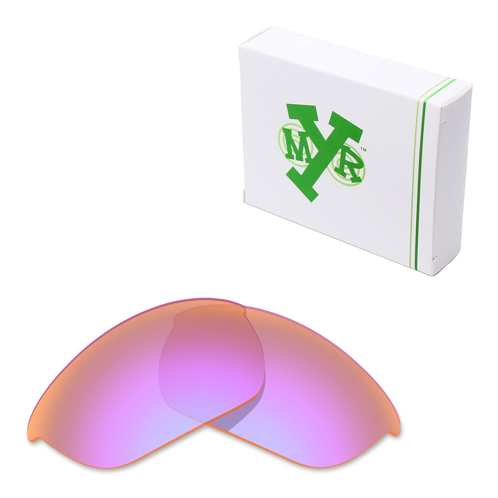 Mryok Polarized Replacement Lenses for Oakley Half Jacket 2.0 - Cobalt Rose