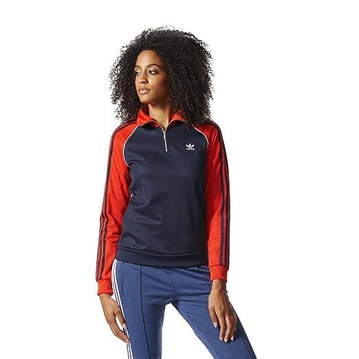 13b4d9ca4e50 adidas Women Half-Zip Track Jacket at Amazon Women s Clothing store