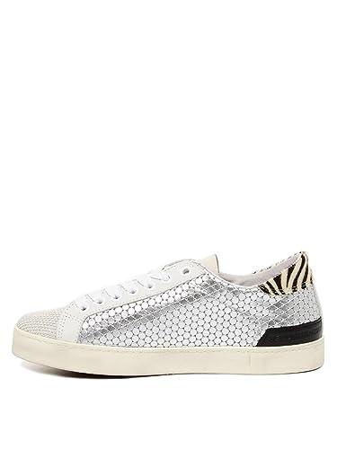 34a8f6c193ea D.a.t.e. Hill Low Pong Damen Sneaker 41 Silber  Amazon.de  Schuhe    Handtaschen