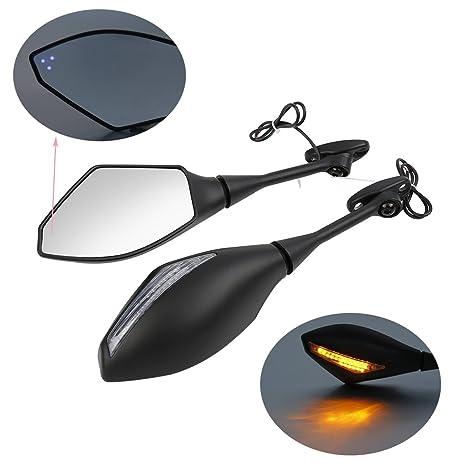 Turn Signal Mirrors For 2003-2012 Honda Cbr 600Rr 2004-2007 Cbr1000Rr Carbon Cl