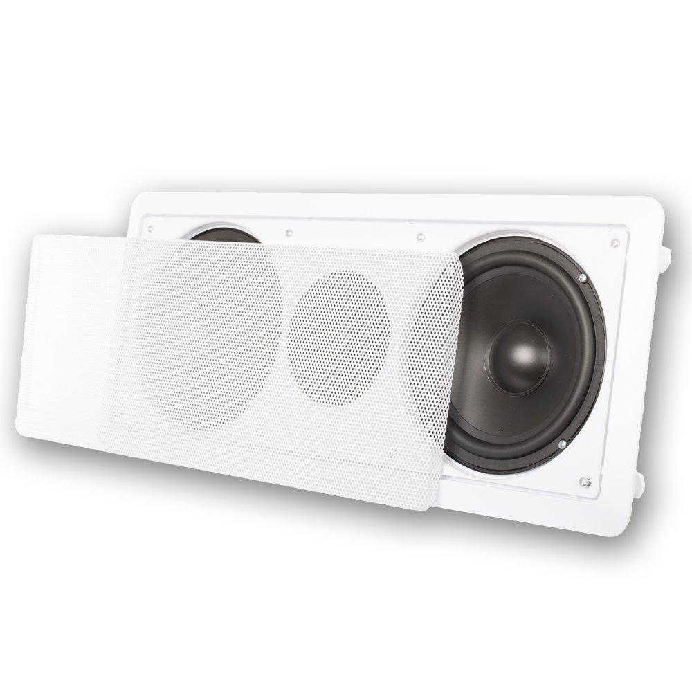 Acoustic Audio CC6 6.5-Inch Center Channel with Crossover, White
