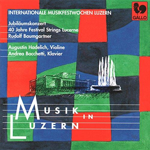 Vivaldi: Concerto RV 581 - Bach: Grand Overture, Op. 18, No. 1, W. C26 - Mozart: Piano Concerto, No. 12, K. 414 - Stravinsky: 3 Pieces for String Quartet ()