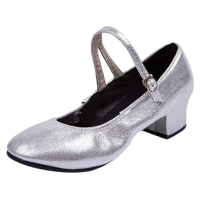 Vovotrade Scarpette da Tip Tap da Donna Flamenco Scarpe da