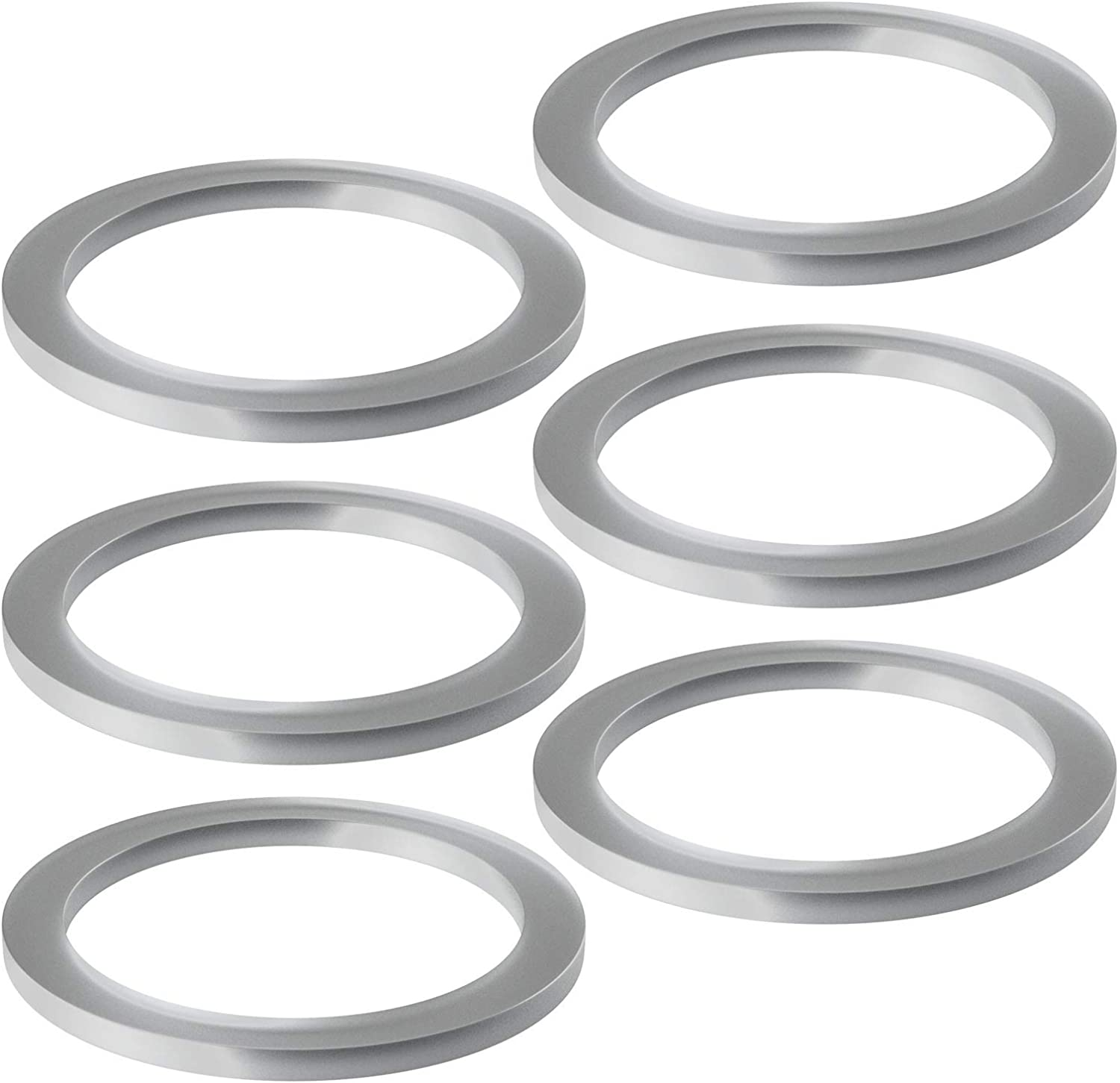 6-pack Blender Replacement Part Sealing Gasket Rubber O-Ring Gasket Compatible with Cuisinart CBT-500, SB5600, CB600, SPB-456-2B and Oster & Osterizer Blenders