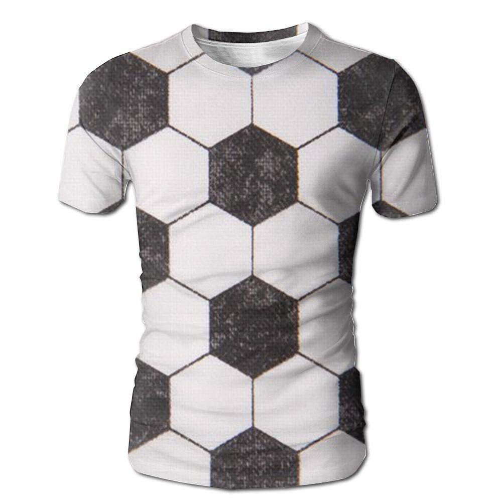 Flame Over The Calf Soccer Men Hipster Short Sleeve Sleep T-Shirt Tshirts