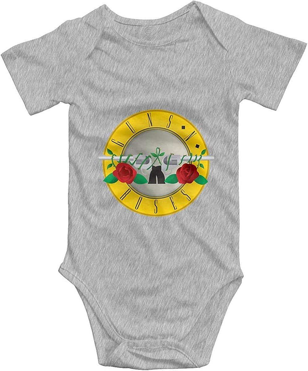 Guns N Roses Logo GNR Body per Neonato Manica Corta per Bambina