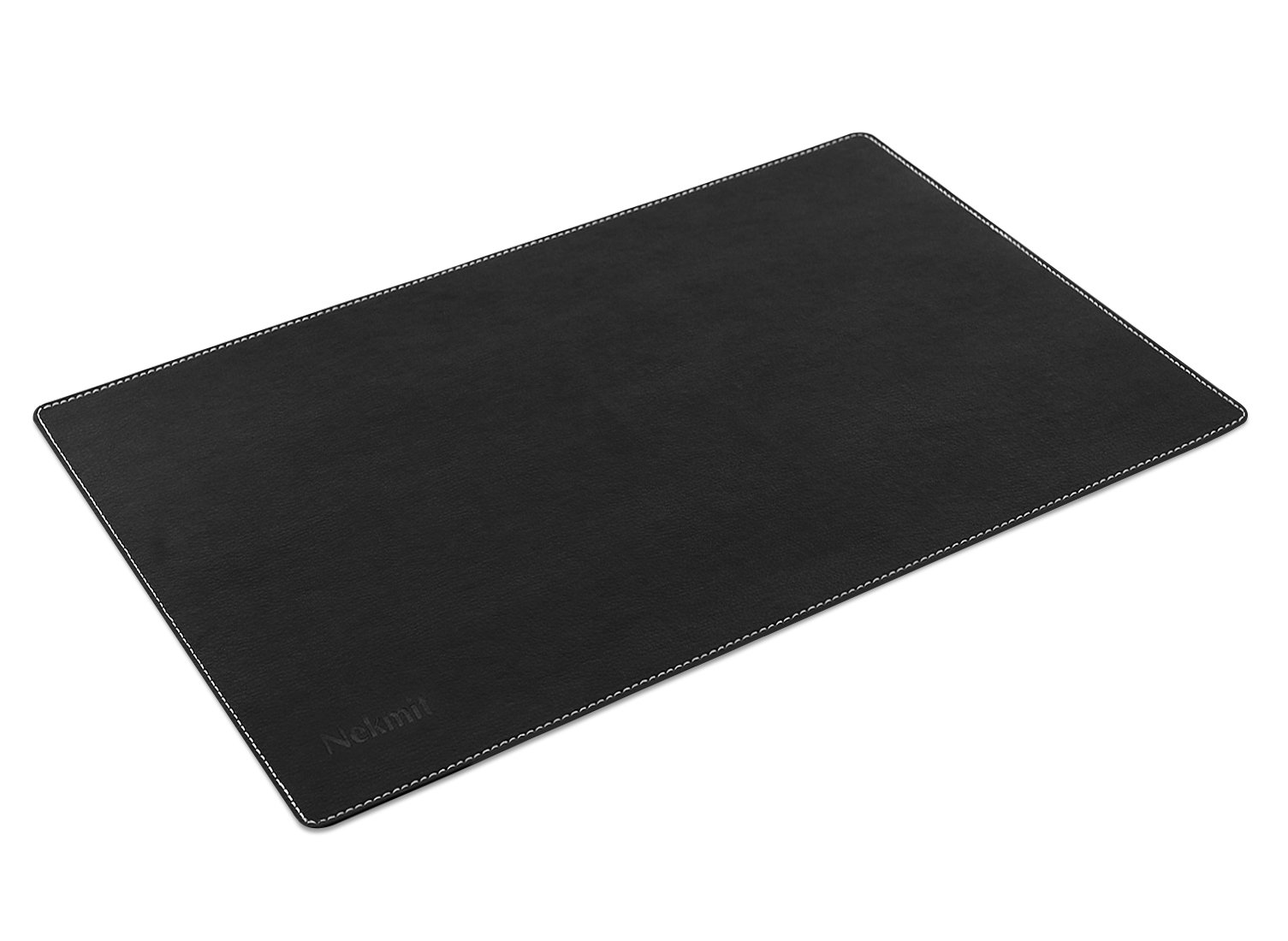 Nekmit Leather Desk Blotter 17 Quot X12 Quot Black 17 Quot X12 Quot No