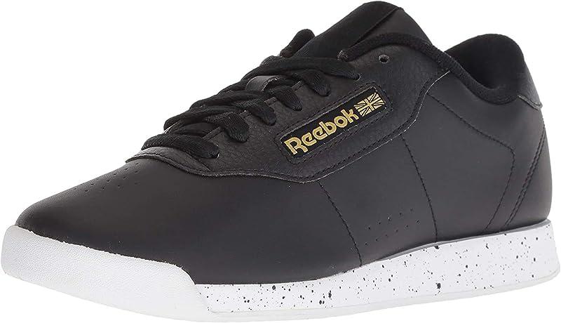 Reebok Princess Sneakers Damen Schwarz/Weiß/Gold Metallic
