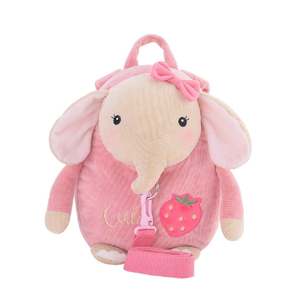 Me Too Kids Leash Bags Toddler Backpack with Safety Harness (Pink Rabbit)