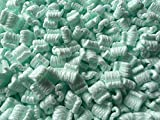 Supplyhut Green Anti-Static Loose Fill Packing Shipping Peanuts 80 Cubic Feet