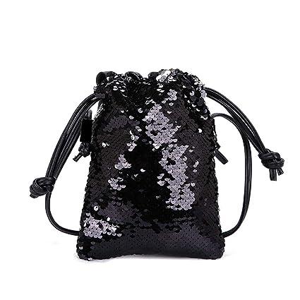 11267f31d62c Amazon.com : LLNONG Women Small Bag Wild Messenger Bag Hook Bag ...