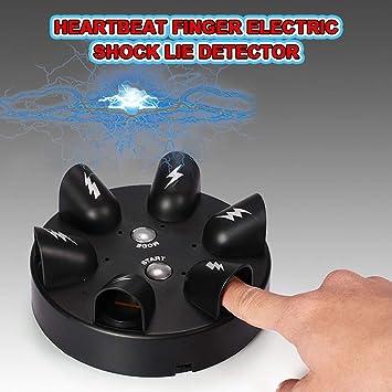 AHTOSKA Sorprendente Ruleta Detector de mentiras Eléctrico Polígrafo Prueba de Dedos Juguete Fiesta Beber Juego BM88: Amazon.es: Juguetes y juegos