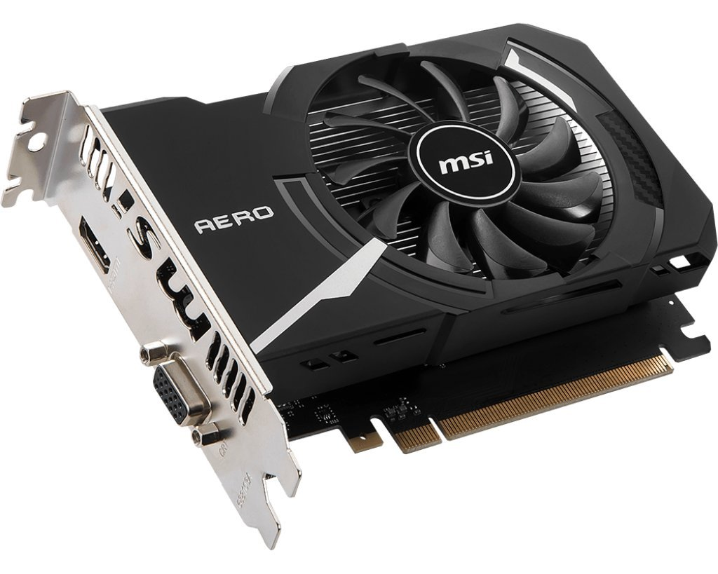 Image result for MSI GAMING GeForce GT 1030 2GB GDRR4 64-bit HDCP Support DirectX 12 ITX OC Graphics Card