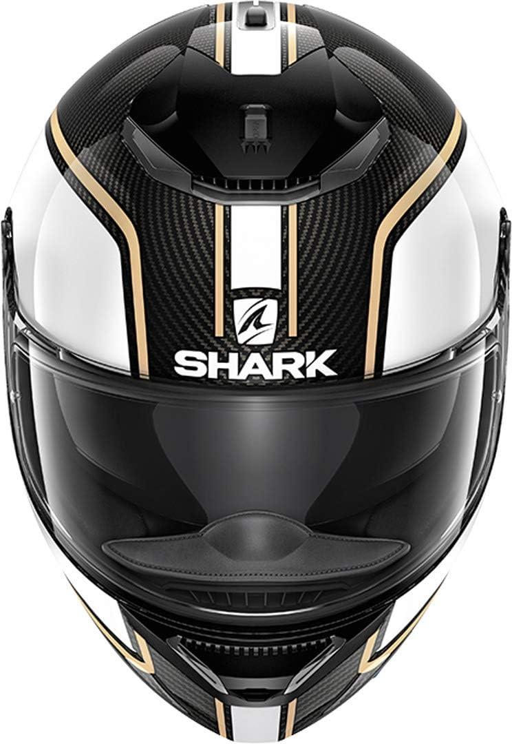 Noir//Gris Shark Casque moto SPARTAN CARBON 1.2 PRIONA DAS L