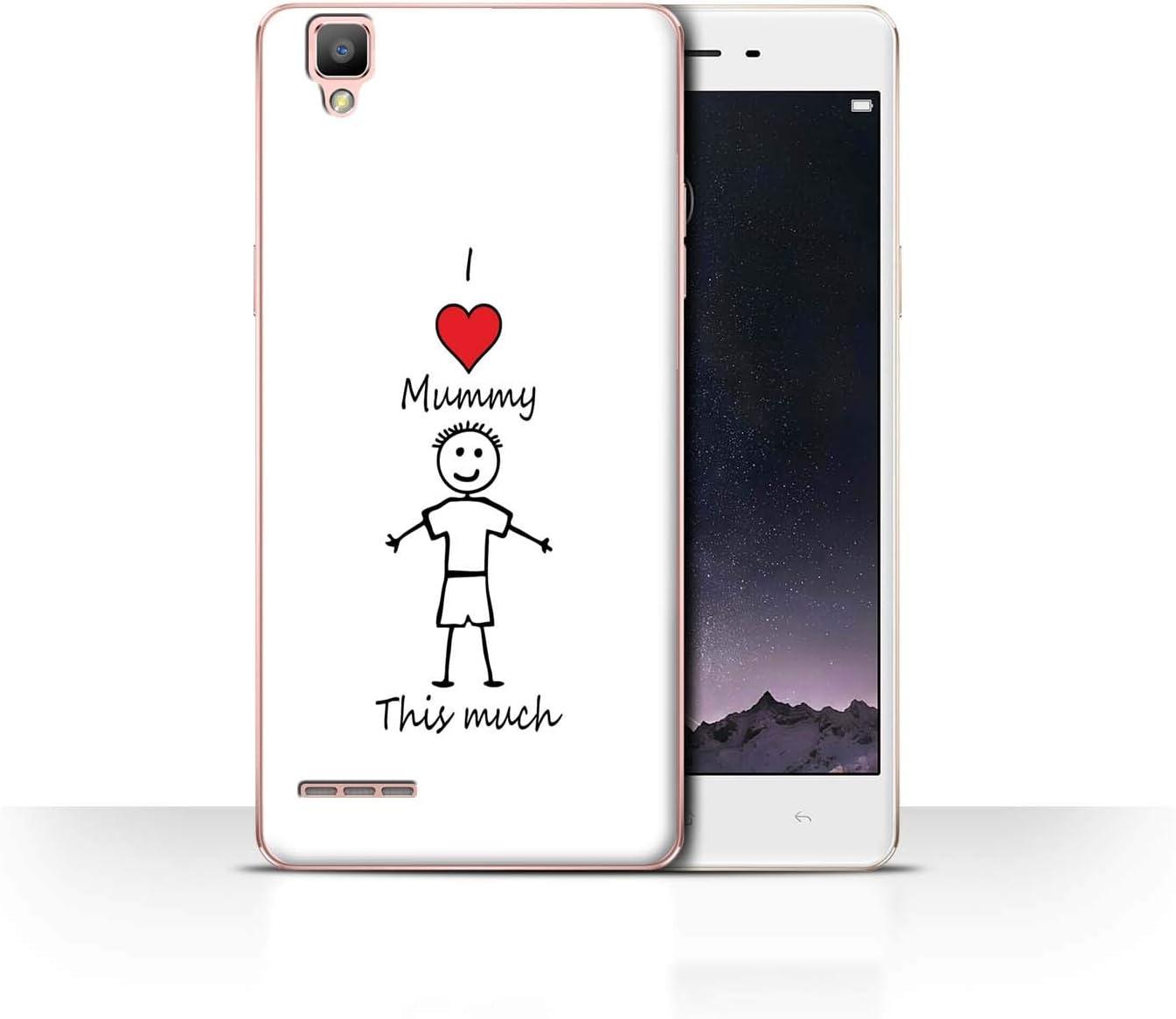 Stuff4® Phone Case/Cover/Skin/OPP-CC/I Love My Mummy Daddy ...