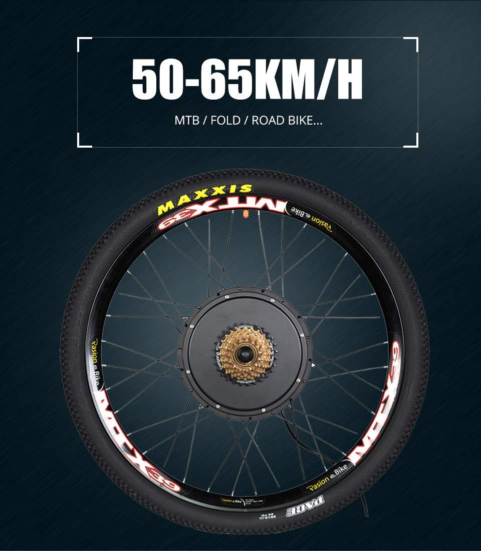 Amazon.com : Passion eBike 48V 1500W Motor Bicicleta Electric Bicycle Bike Conversion Kit for 29
