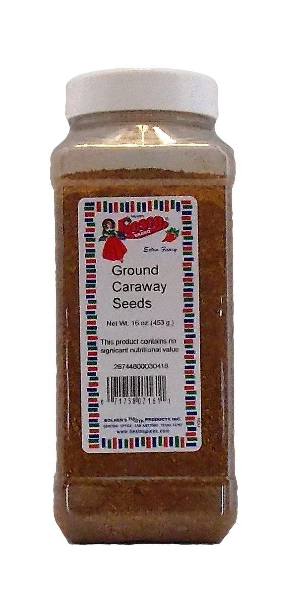 Bolner's Fiesta Extra Fancy Ground Caraway Seeds, 16 Oz.
