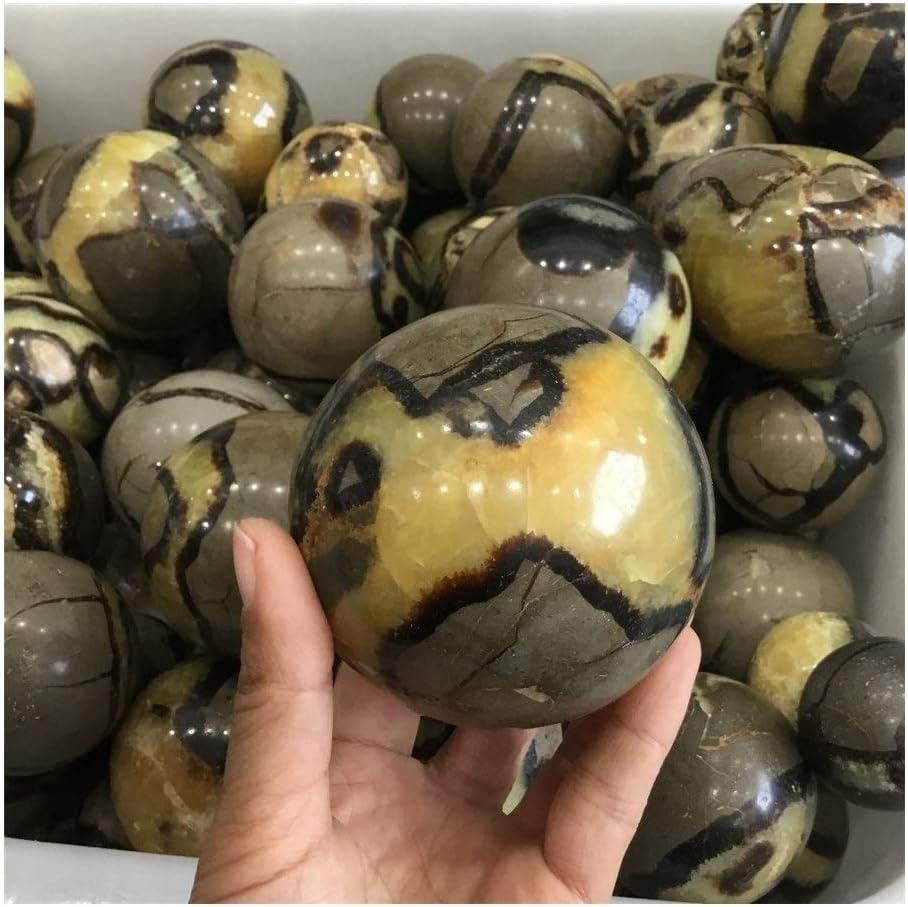 DYHM Piedras Piedra de Cristal Piedra Natural Esfera de muestras minerales Piedras Bola