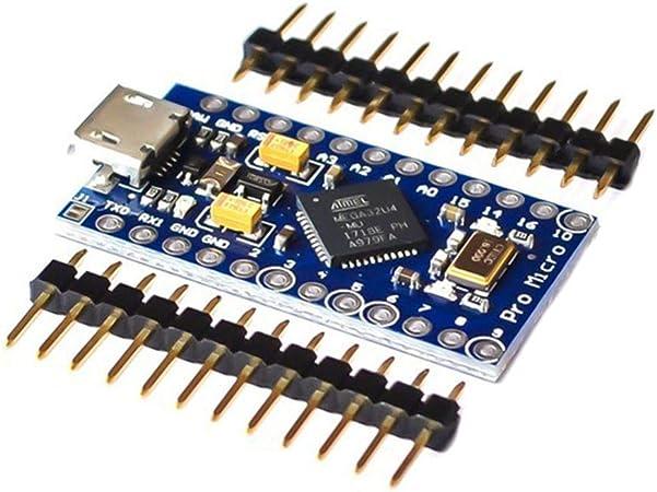 5v Pro Modulo Micro con Atmega 32u4 16mhz Board – Arduino Leonardo simile
