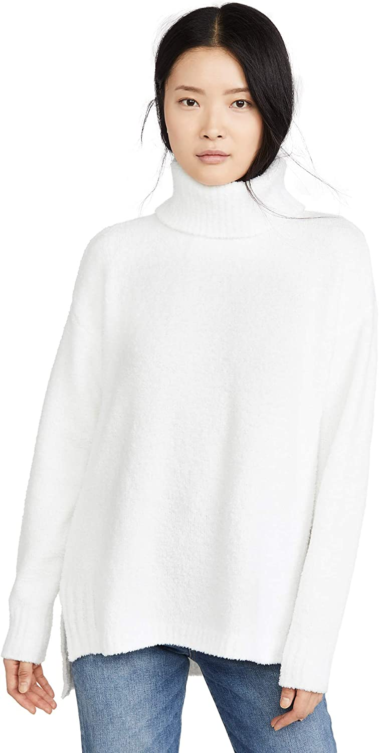 ATM Anthony Thomas Melillo Womens Chenille High Neck Sweater