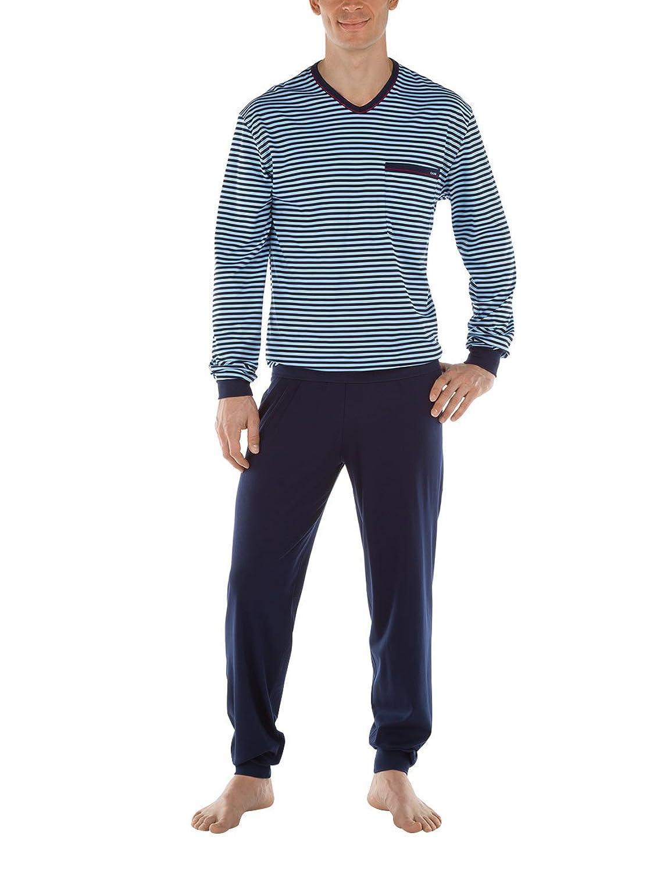 Calida Herren Zweiteiliger Schlafanzug Sansibar Pyjama
