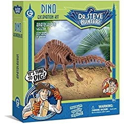 Geoworld Dino Excavation Kit-Apatosaurus Skeleton Science