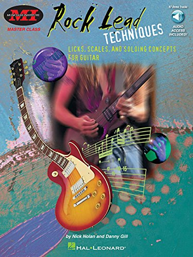Rock Lead Techniques: Master Class Series (Musicians (Hal Leonard Master Scale)