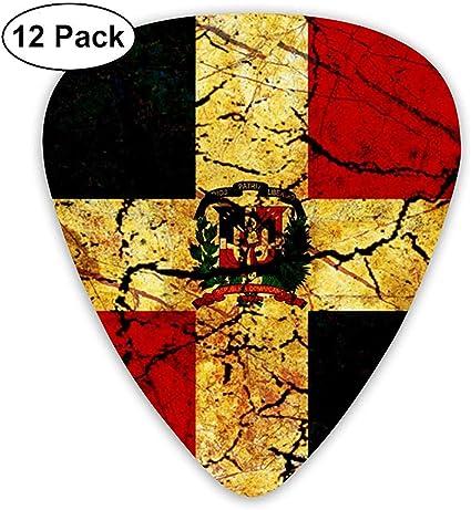 Pack de 12 púas de guitarra de la República Dominicana vintage ...
