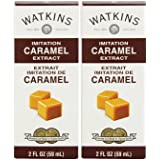 Watkins - Imitation Caramel Extract, 2 oz - 2 Pack