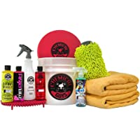 $79 » Chemical Guys HOL132 Best Car Wash Bucket Kit with Dirt Trap, 16 fl. oz, 11 Items
