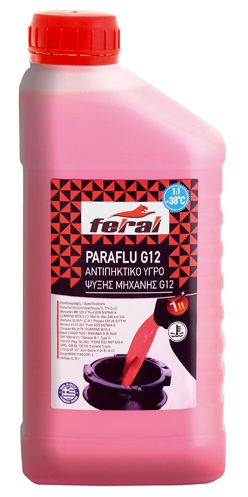 Feral G12 Engine Coolant Antifreeze 1L 5205102180147