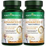Purity Products - Dr. Cannell's Advanced Vitamin D Men's Formula - 60 Capsules - (2 Pack)