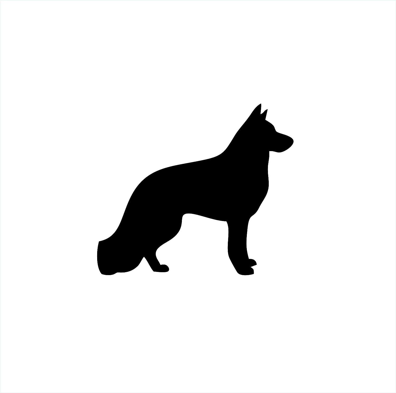 German Shepherd Dog Animal Vinyl Die Cut Car Decal Sticker