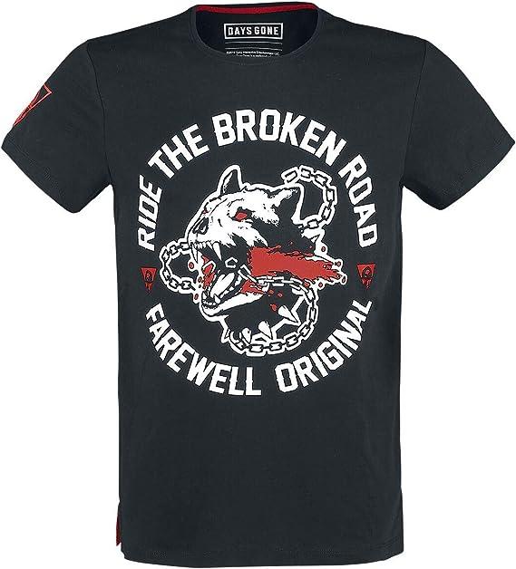 Broken Road T-shirt Day/'s Gone