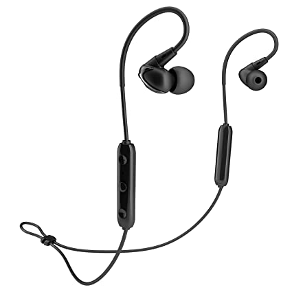 30ab55028b0 Image Unavailable. Image not available for. Color: Bluetooth Headphones,  Wireless Noise Cancelling Earbuds, Sports ...