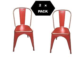 Sedie In Metallo Da Cucina : F t sedia in metallo design industriale tipo tòlix