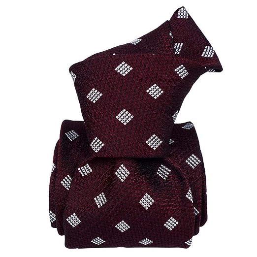 Signni et Design - Corbata de seda, burdeos: Amazon.es: Ropa y ...