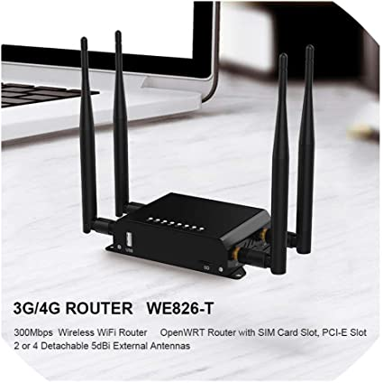 Amazon.com: Routerswifi Router - Módem inalámbrico 4G 3G con ...