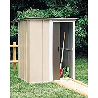 Arrow Shed BW54-A Brentwood 5-Feet by 4-Feet Steel Storage Shed