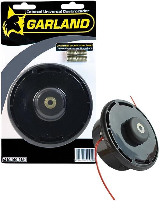 Garland 7199000450 - Cabezal Universal Desbrozadora: Amazon.es: Jardín