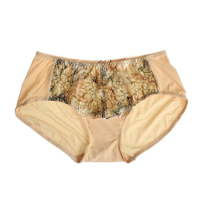 Boyshort sexy de la mujer de la cintura  fina ropa interior panza y impreso  ropa interior bordada  la ropa interior bordado de impresión -A XXL   Amazon.es  ... 8b90a806e5d5