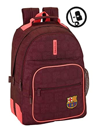 Safta Mochila Escolar F.C. Barcelona 3ª Equip 17/18 Oficial 320x150x420mm: Amazon.es: Equipaje