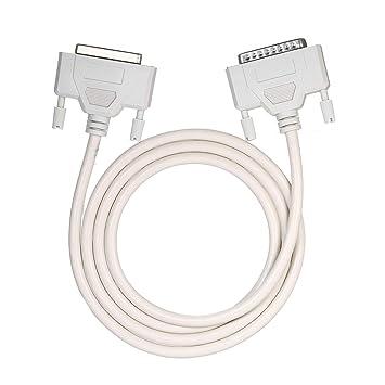 KKmoon Cable extensor de impresora DB25 de 25 pines Cable de ...