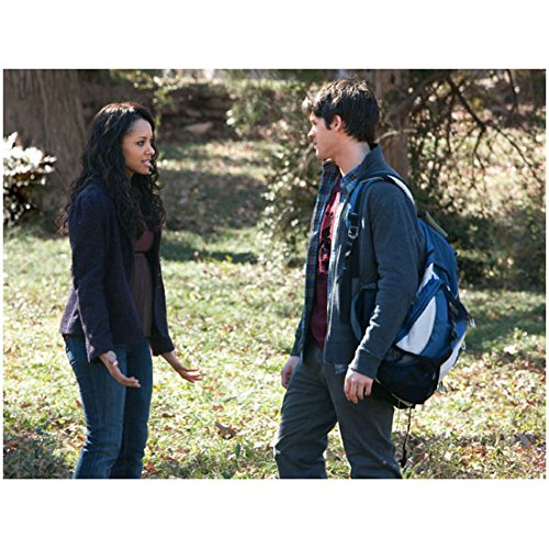 The Vampire Diaries (TV Series 2009 - ) 8 inch x 10 inch photograph Steven R. McQueen Eyes on Kat Graham Outdoors Pose 4 kn