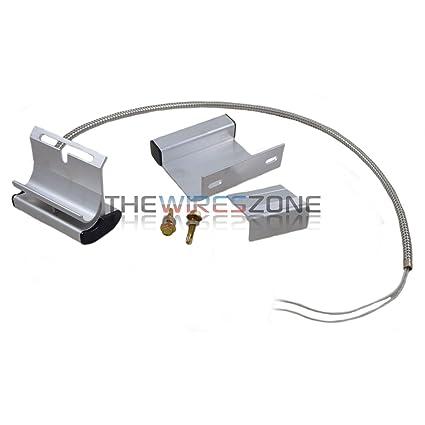 Overhead Garage Door Floor Alarm System Switch Contact Sensor Track