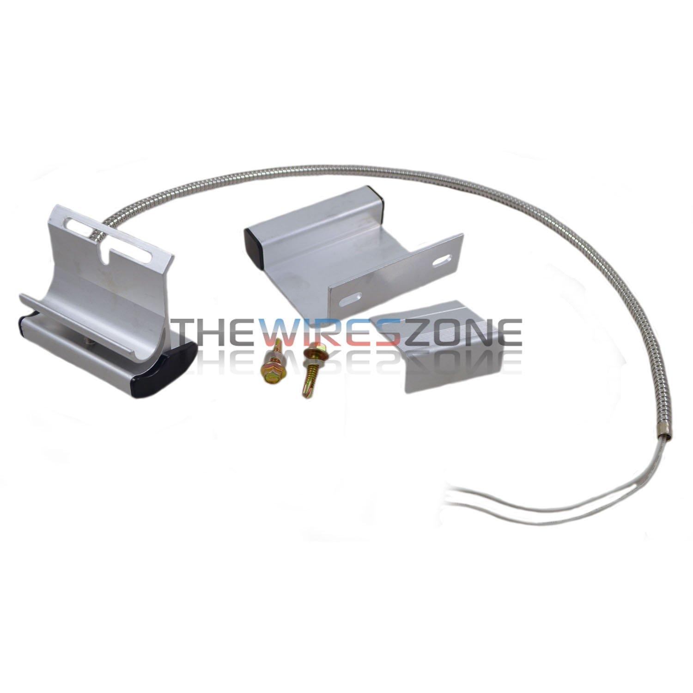Overhead Garage Door Floor Alarm System Switch Contact Sensor Track Mounted